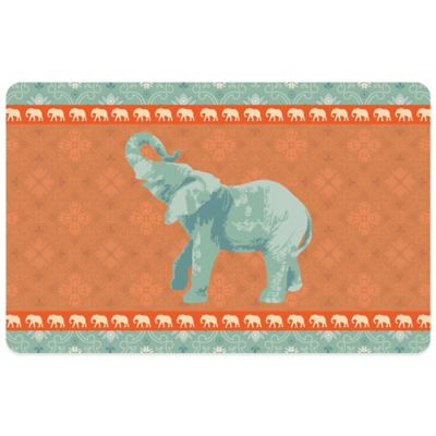 Bungalow Flooring Elephant 6 Decorative Kitchen Mat