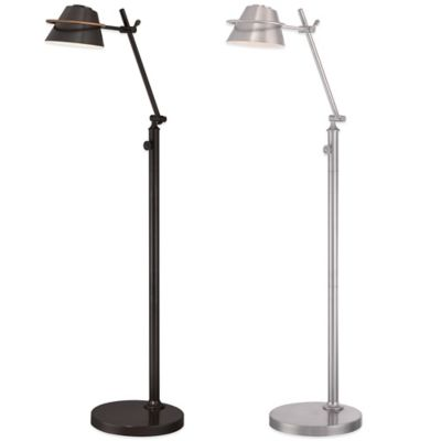 Quoizel Vivid Collection LED Spencer Floor Lamp in Western Bronze