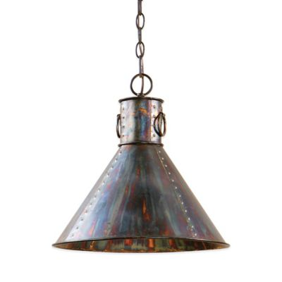 Uttermost Levone Ceiling-Mount Pendant in Bronze