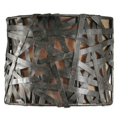 Uttermost Alita Ceiling-Mount Wall Sconce in Black