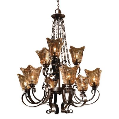 Uttermost Vetraio 9-Light Ceiling-Mount Chandelier