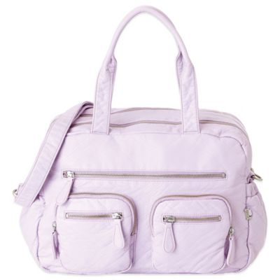 OiOi® Faux Lizard Carry-All Diaper Bag in Orchard