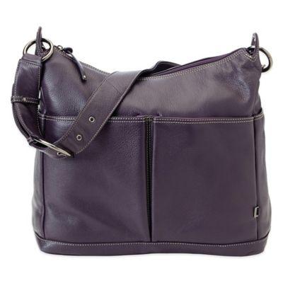 OiOi® Leather Hobo Diaper Bag Diaper Bags