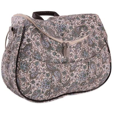 Minene Layla Retro Diaper Bag in Beige