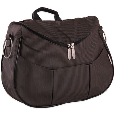 Minene Layla Diaper Bag in Black