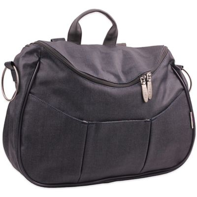 Minene Layla Denim Diaper Bag in Blue