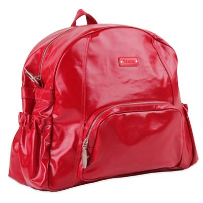 Minene Ella Diaper Bag in Red