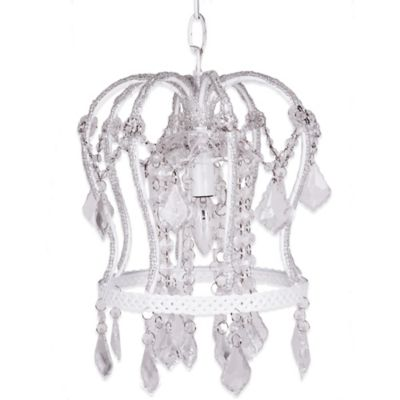 Sleeping Partners Tadpoles Crown Chandelier in White