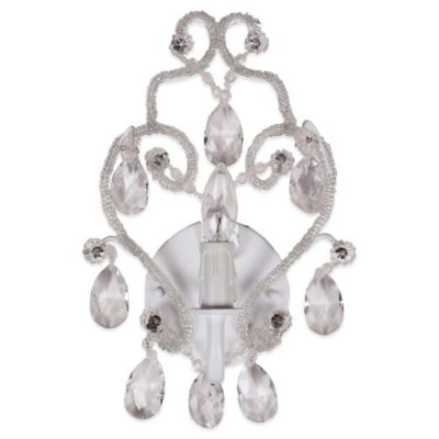 Sleeping Partners Tadpoles Chandelier Sconce in White