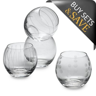 Mikasa® Cheers Stemless 26-Ounce Balloon Wine (Set of 4)