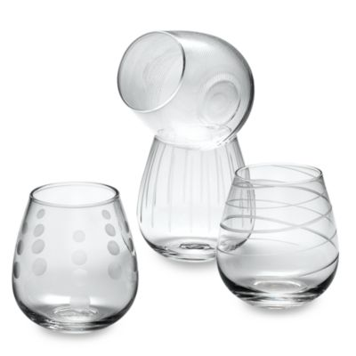 Mikasa® Cheers 14 oz. Stemless Wine Glasses (Set of 4)