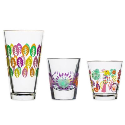 Sagaform® Fantasy Ice Beverage Drinking Glass (Set of 4)