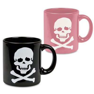 Waechtersbach His and Her Skull Mugs (Set of 2)