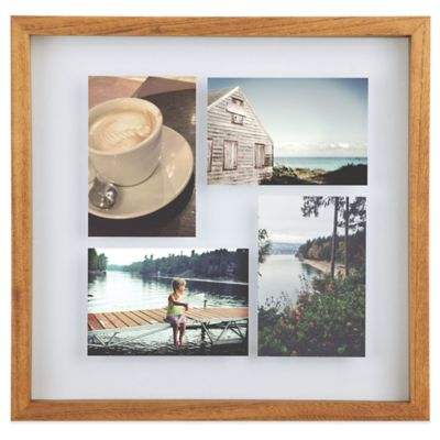 Umbra® Float Wood Picture Frame in Walnut