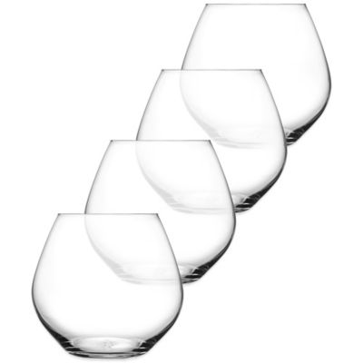 Fitz and Floyd® Giselle Stemless Wine Glasses (Set of 4)