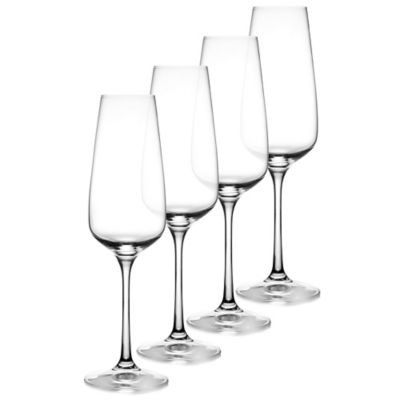 Fitz and Floyd® Giselle Toasting Flutes (Set of 4)