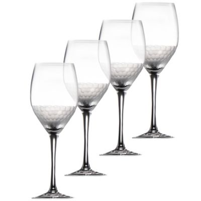 Fitz and Floyd® Daphne White Wine Goblets(Set of 4)