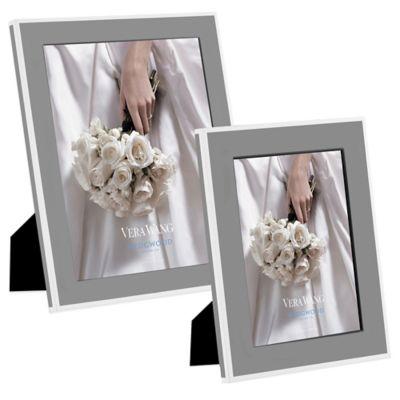 Vera Wang Wedgwood® Vera Hue 8-Inch x 10-Inch Frame in Smoke