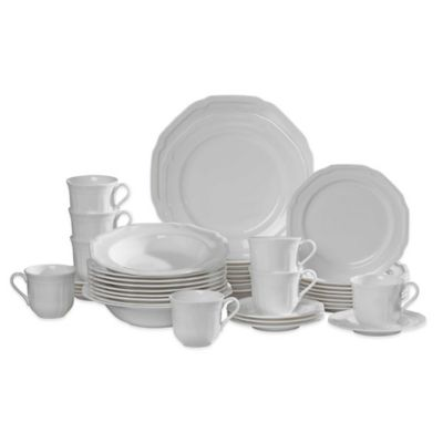 Mikasa® Antique White 42-Piece Dinnerware Set