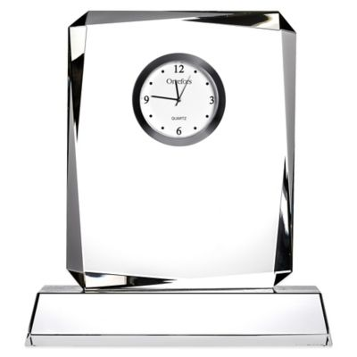 Orrefors Table Clock