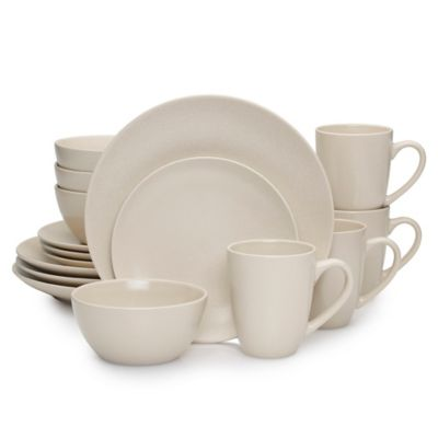 Mikasa® Nolan 16-Piece Dinnerware Set in Tan