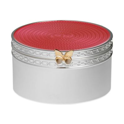 Vera Wang Wedgwood® Treasures with Love Butterfly Box in Pink