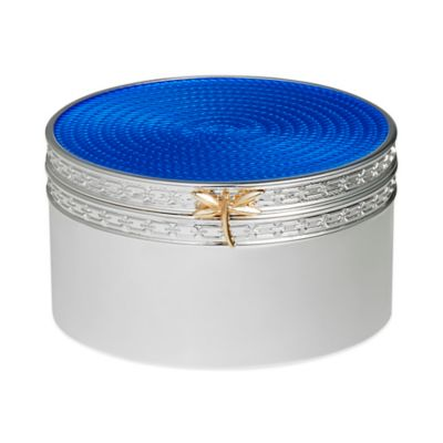Vera Wang Wedgwood® Treasures with Love Dragonfly Box in Blue