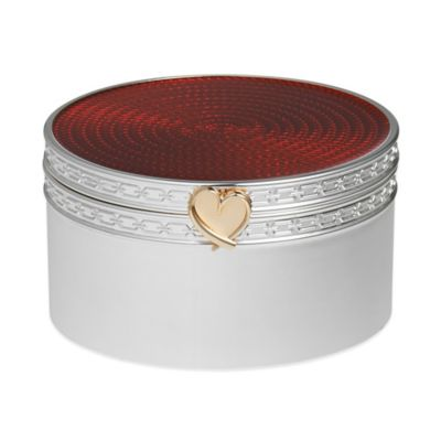 Vera Wang Wedgwood® Treasures with Love Heart Box in Red