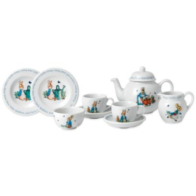 Wedgwood® Peter Rabbit 9-Piece Children's Tea Set