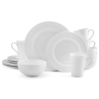Mikasa® Ciara 16-Piece Dinnerware Set in White