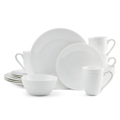 Mikasa® Loria 16-Piece Dinnerware Set in White