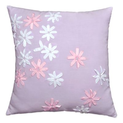 Madison Flower Power Throw Pillow