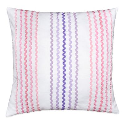 Pink Striped Throw Pillows