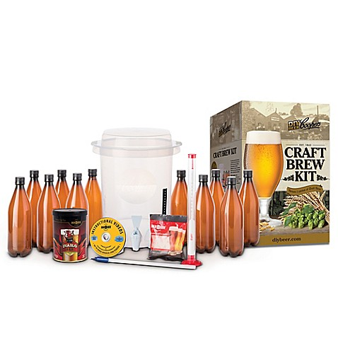 Buy mr beer coopers diy beer craft brew kit from bed for Craft beer brewing kit