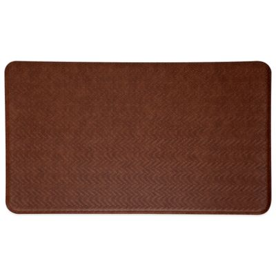 Imprint® Cobblestone 26-Inch x 72-Inch Anti-Fatigue Comfort Mat in Toffee Brown