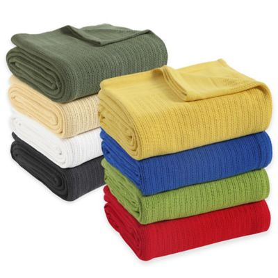 Fiesta® Twin Blanket in Lemongrass
