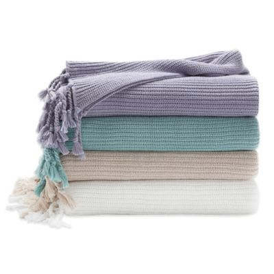 Under the Canopy® Heavenly Organic Throw in White