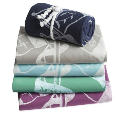 Blue Bedding Throws