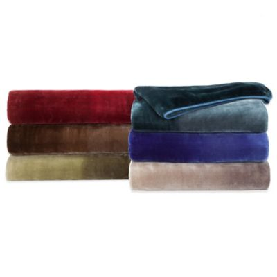 Vellux® Mink Ombré Throw in Blue