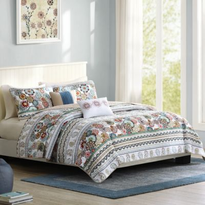 Intelligent Design Tamira Twin/Twin XL Coverlet Set in Multi