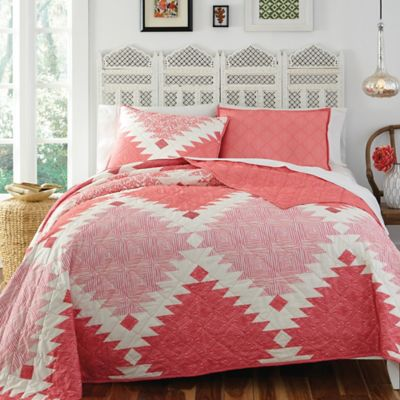 KD Spain Kaleo Reversible Twin Quilt Set