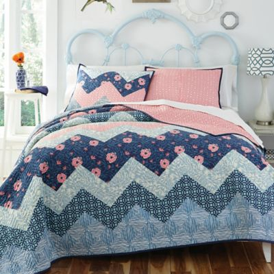Kate Spain Camilla Reversible King Quilt Set