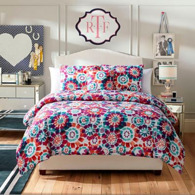 Fanfare 4-Piece Twin Comforter Set in Multi