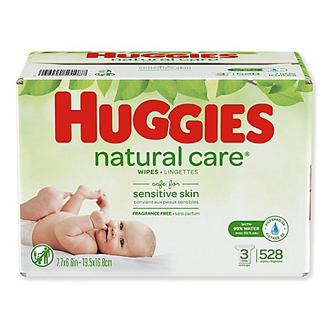 Huggies® 552-Count Natural Care® Wipes - www.buybuyBaby.com