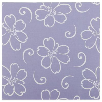 Glenna Jean Lulu Flower Print Canvas Wall Art in Lavender