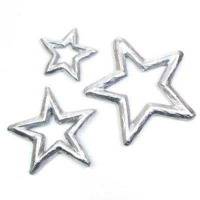 Glenna Jean Starlight 3-Piece Wall Hanging Set in Silver
