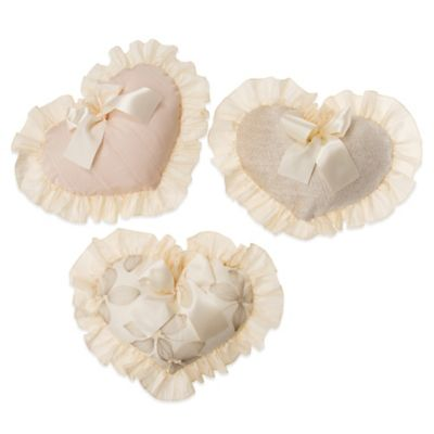 Glenna Jean Florence Heart Wall Hangings (Set of 3)