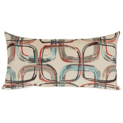 Glenna Jean Jetson Mod Print Oblong Throw Pillow