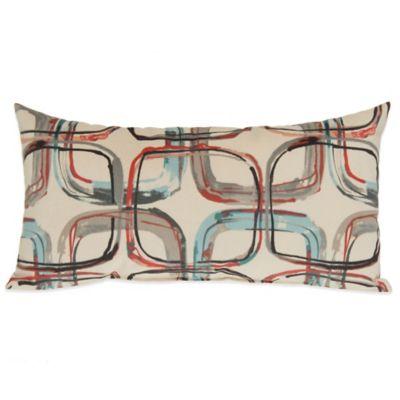 Glenna Jean Jetson Mod Print Oblong Throw Pillow