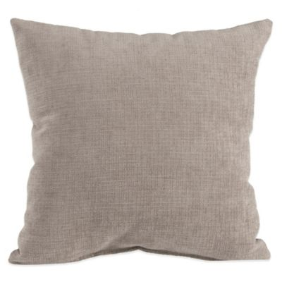 Glenna Jean Jetson Velvet Throw Pillow in Grey